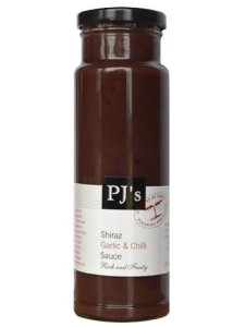 PJ's Shiraz Garlic & Chilli Sauce