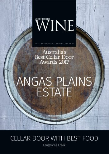 Cellar Door Award 2017 for Best Food in Langhorne Creek