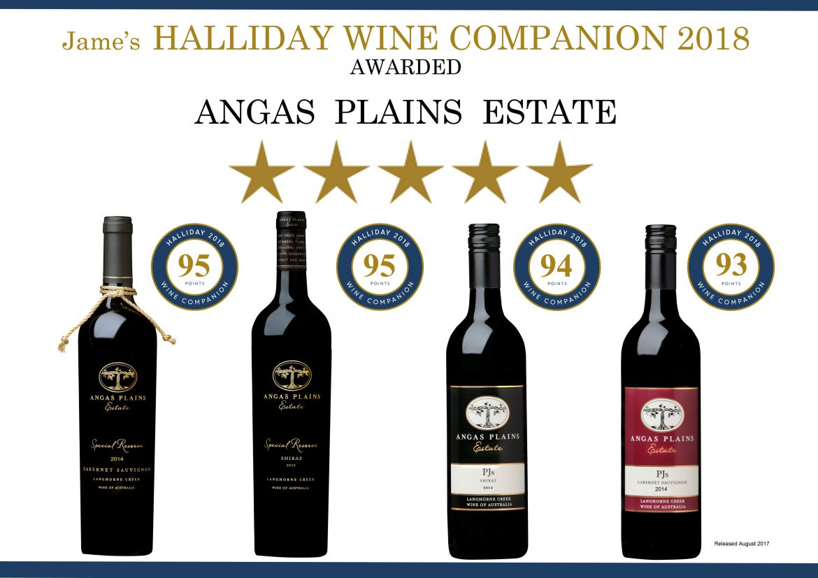 Outstanding Scores in Wine Companion 2018